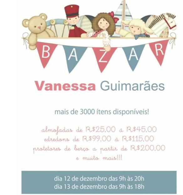 Bazar Vanessa Guimarães