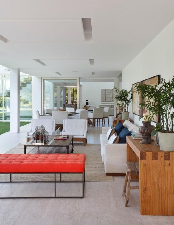Casa na Barra da Tijuca - Projeto Paola Ribeiro - Casa Vogue