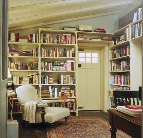 Iris's Library Cottage - The Holiday
