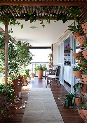 Varanda Projeto Paula Galbi - Revista Casa e Jardim