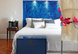 Baú Azul Royal - Casa e Jardim
