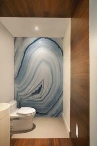 Lavabo com Placa de Pedra Azul