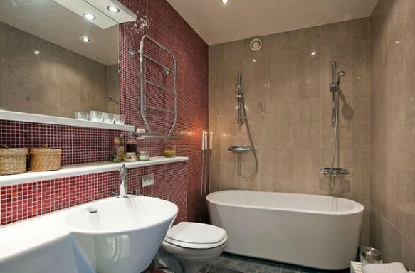 banheiro de Cobertura em Estocolmo