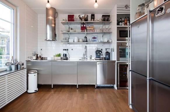 Cozinha de Cobertura em Estocolmo