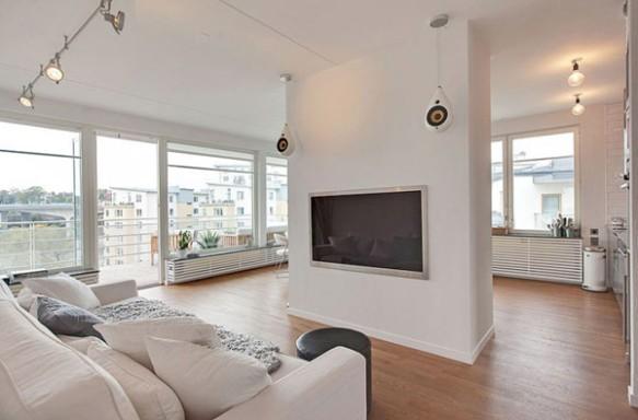 Vista 2 Home Theater Cobertura em Estocolmo