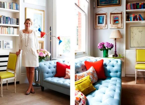 Christine d'Ornano, executiva da marca de cosméticos Sisley - Casa Vogue