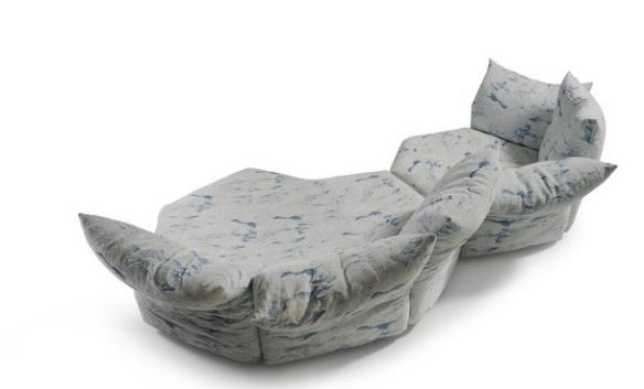 O sofá Standard é uma das novidades da Edra, Criação de Francesco Binfaré