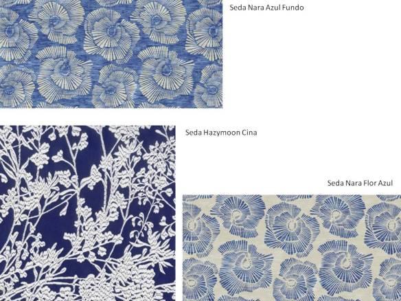 Tecidos Estampados em Seda - Safira Sedas - www.safirasedas.com.br