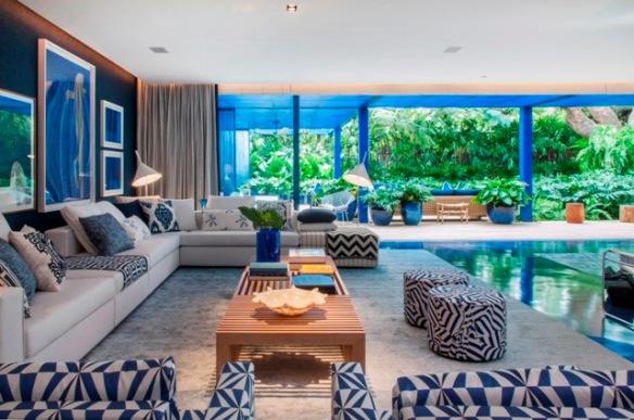 Roberto Migotto Living Casa de Praia