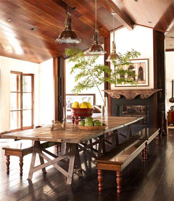 Sala de Jantar Projeto de Martyn Lawrence - Bullard