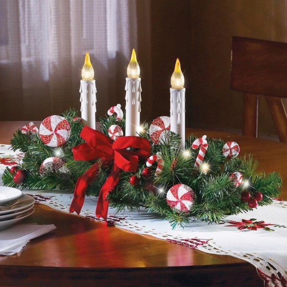 christmas-dining-table-decoration-calm-christmas-idea-silver-candle-lamps-christmas-tree-leaves-christmas-candies-motif-ornaments-red-decorative-ribbon-christmas-tablecloth-ceramic-plates-polished-woo