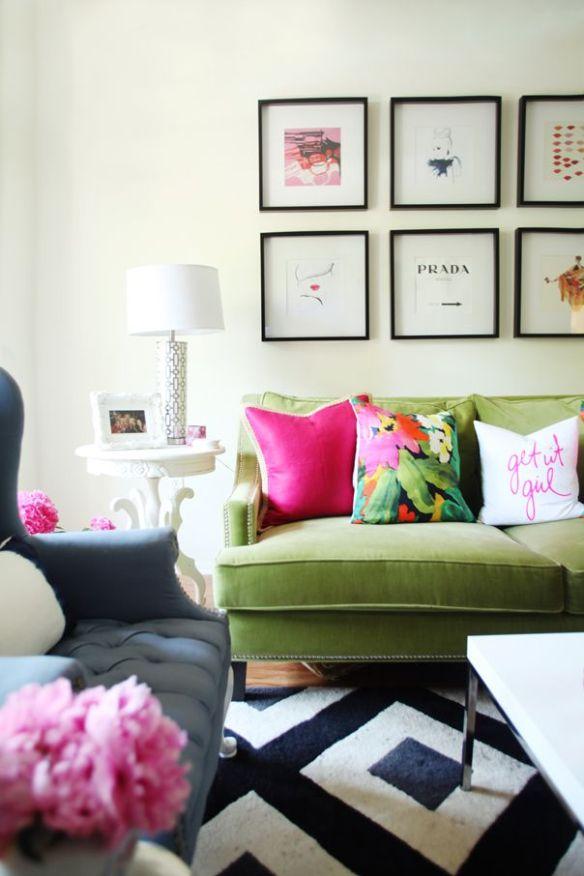 pantone-greenery-sofa
